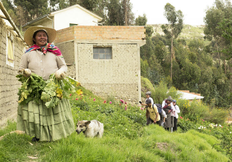 Grow the Farmer. Feed the Planet: Meet Encarnacion Fernandez from Bolivia