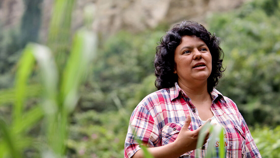 Call for Justice after Killing Award-Winning Honduran Indigenous Rights Activist
