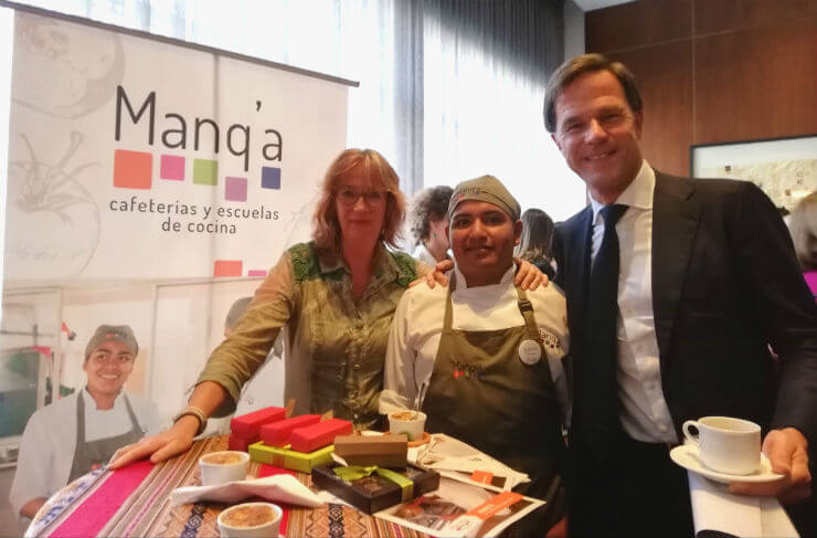 Students Manq'a Cater Dutch Prime Minister at Symposium Dutch Trade Mission to Colombia
