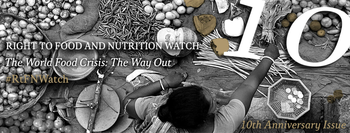 Launch of 10th Right to Food and Nutrition Watch: How Trade Affects Development.