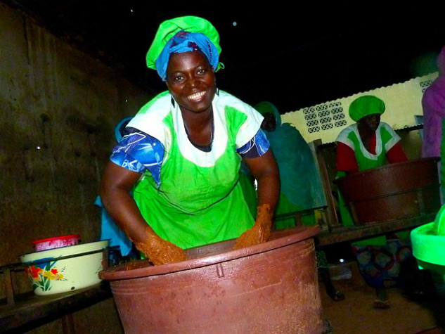 Shea: Building Partnership for Progress through Women's Gold