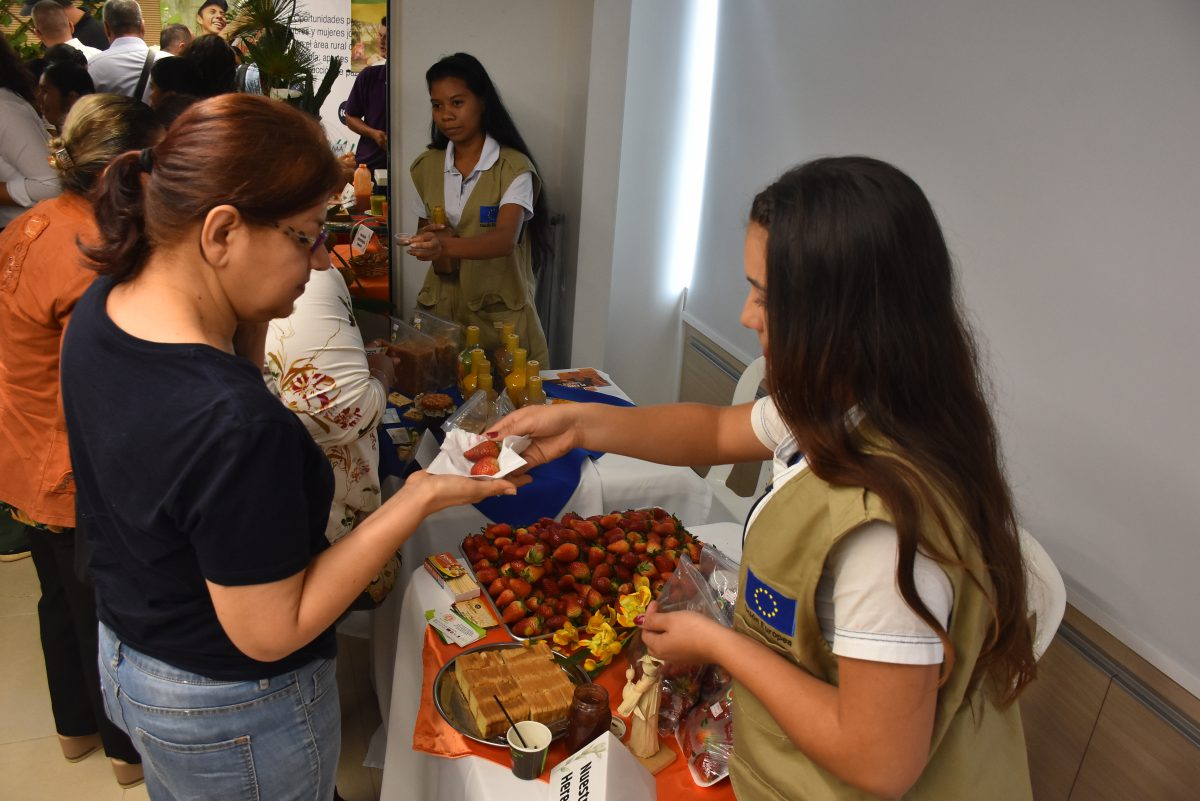 Young Entrepreneurs and Businessman Talk about Rural Entrepreneurship in Buga, Colombia