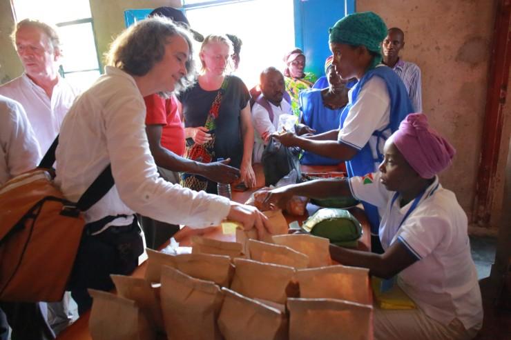 Dutch Officials Paid Visit Cassava Processing Unit Burundi