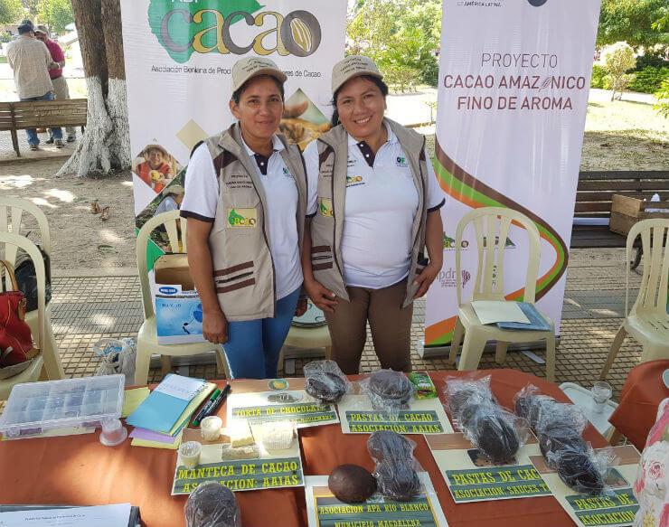 First Fair of Cacao and Chocolate in Magdalena, Bolivia