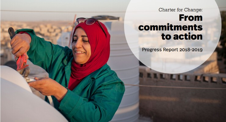 Charter4Change Report shows progress on localization