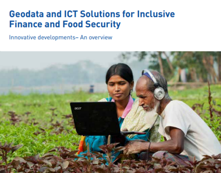 ICCO Contributes to Research 'Geodata and ICT Solutions for Food Security'