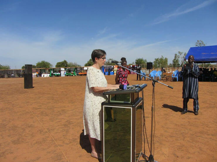 Celebration of World Food Day in Burkina Faso