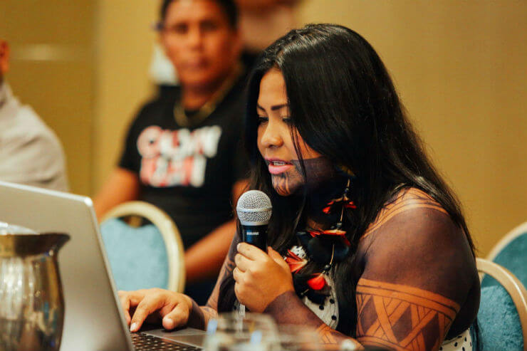Women territorial leaders from Mesoamerica advocate for the benefit of their communities