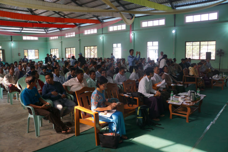 Important Message for Pulses Farmers in Myanmar: Work Together!