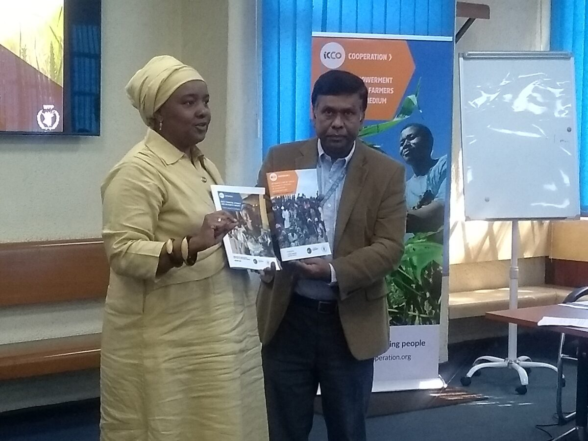 Launch of manual on Group Solidarity System for Producer Organizations