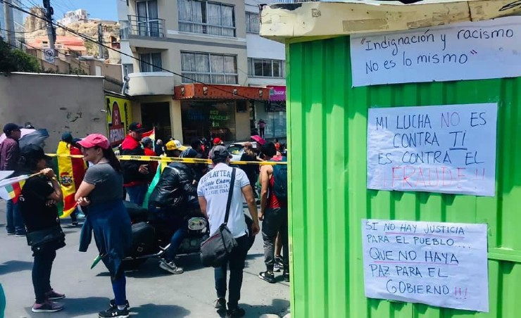 Protests Bolivia: Listen to Youth