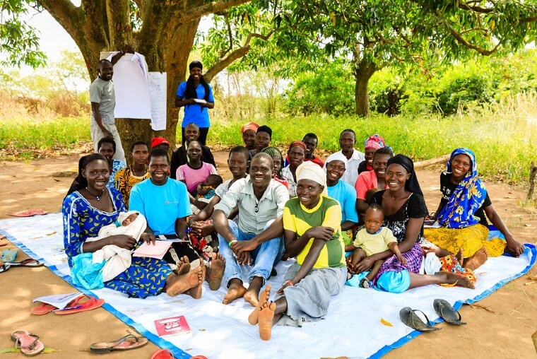training of youth in BidiBidi refugee camp northern Uganda
