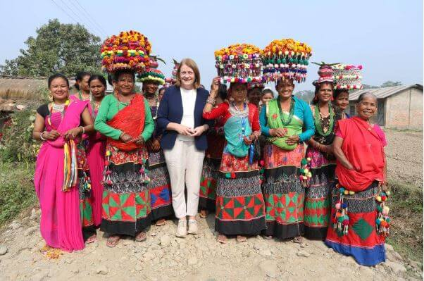 Head of EU Delegation to Nepal Visits Women in Far West Nepal