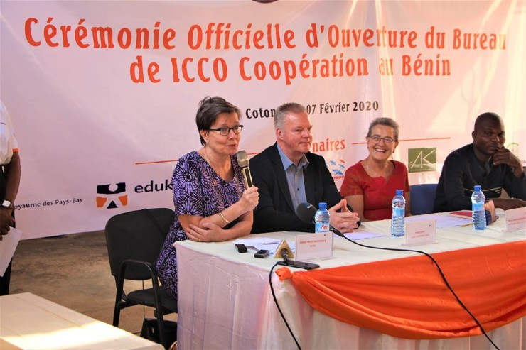 ICCO Cooperation Opens Country Office in Benin