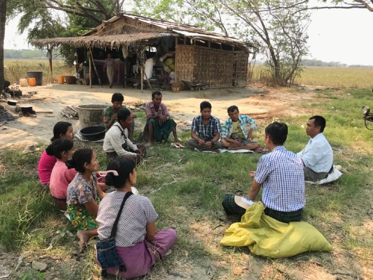 Monitoring visit Myanmar
