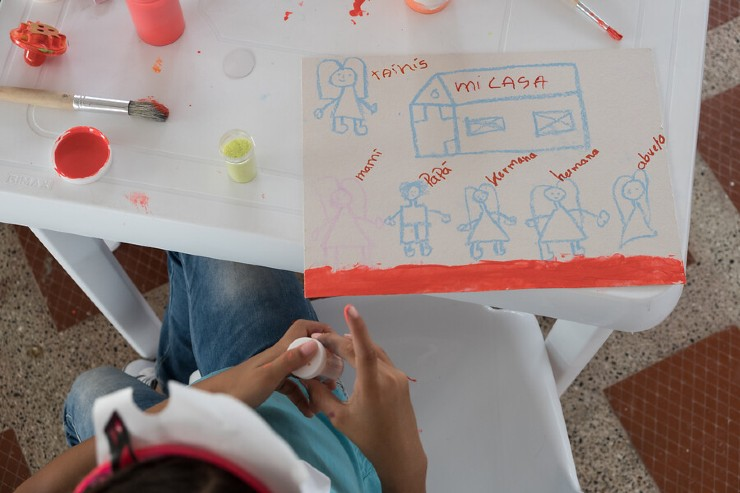 COVID-19 Campaign to Prevent Gender-based Violence in Colombia