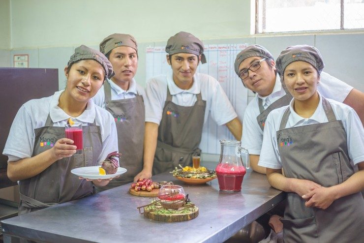Manq'a: 6 Years of Gastronomy Opportunities for Youth