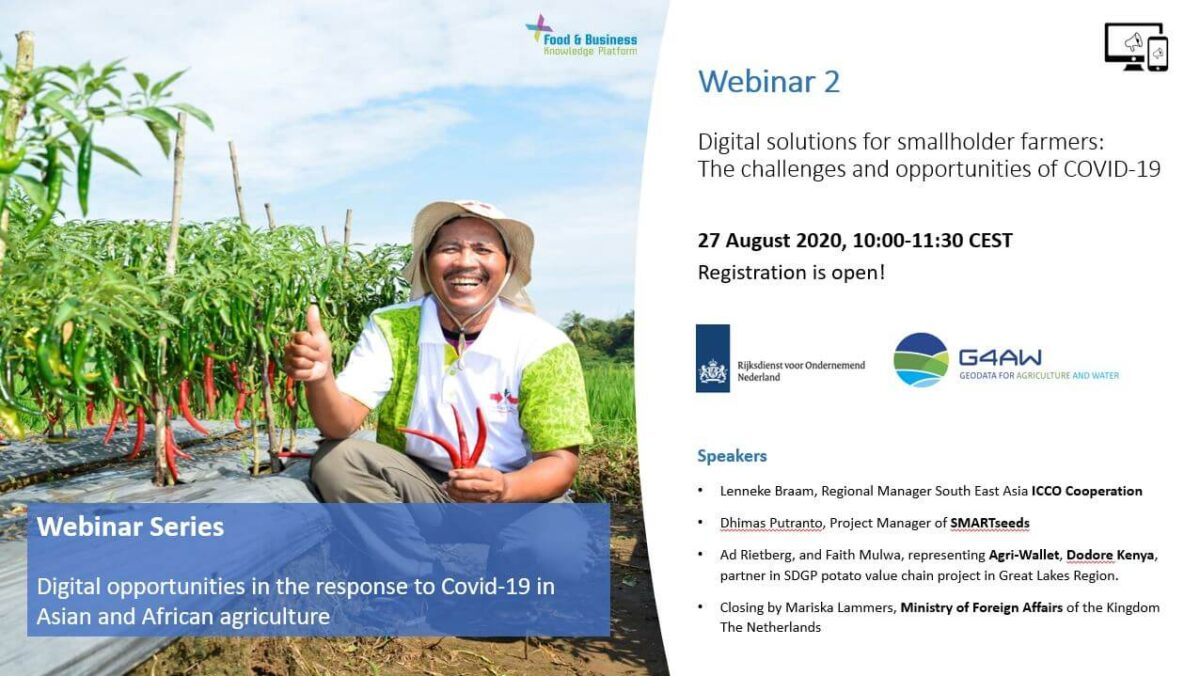 Webinar on Digital Solutions for Smallholder Farmers