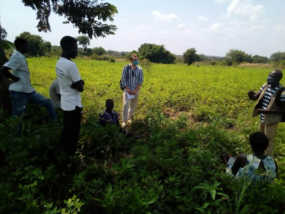 Groundnuts Changing Futures in Northern Uganda's Refugee Communities