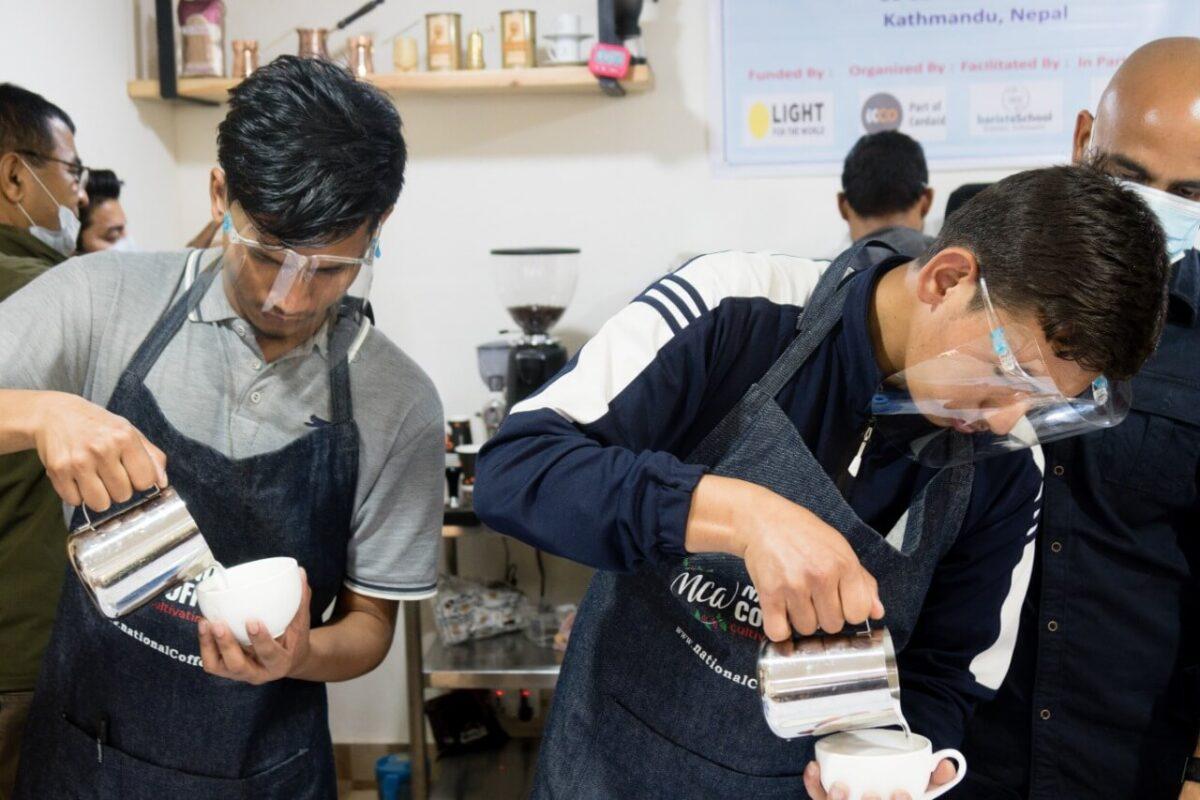 Inclusive Coffee Barista Skills Fair
