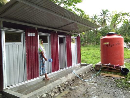 Half jaar na ramp Sulawesi meer dan 450.000 mensen geholpen met Giro555-geld